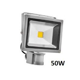 FOCO PROYECTOR LED CHIP 50W c/SENSOR